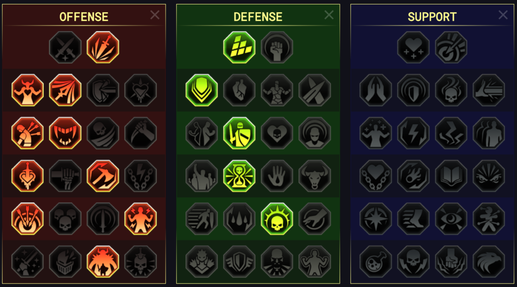 Masteries of CB1