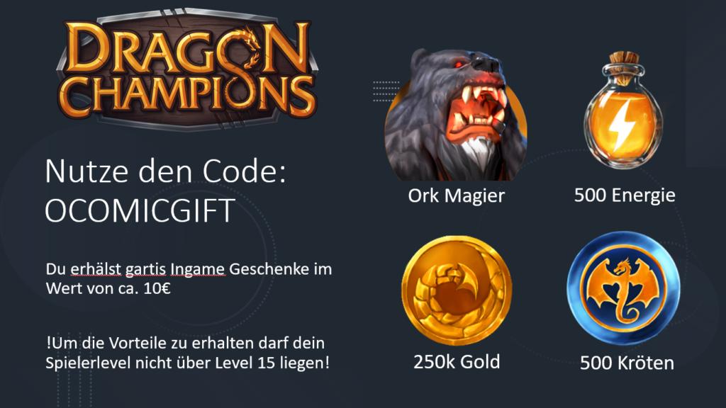 Dragon Champions Promo Code
